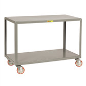 "Little Giant IP-2448-2 Mobile Work Tables, Rugged Steel, 24"" x 48"""