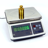 Professional Counting Scale, Up to 66 Lb, 7x10, 0.0001lb Accuracy