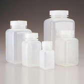 Nalgene 2110-0002 Square Bottle, Wide-Mouth, PPCO, 2oz (60mL) case/72