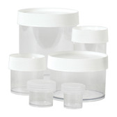 Nalgene 2116-0030 Straight Sided polycarbonate jars, 30mL, Autoclavable, case/48
