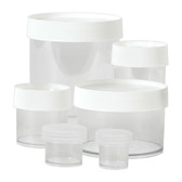 Nalgene 2116-1000 Straight Sided polycarbonate jars, 1000mL, Autoclavable, case/16