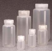 Nalgene 2187-0004 Economy Bottle, Wide-Mouth, PPCO, 4oz (125mL) case/72