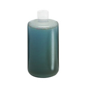 Nalgene 2202-0005 LDPE Bottle, 2 Liter Nalgene, 38-430 closure, case/6
