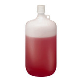 Nalgene 2202-0010 LDPE Bottle, 4 Liter Narrow-Mouth 38-430 closure, case/6