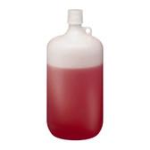 Nalgene 2202-0010 LDPE Bottle, 4 Liter Narrow-Mouth 38-430 closure, case/6