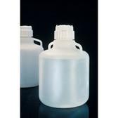 Nalgene 2210-0020 Carboy with Handles, 83B 10 Liter LDPE, Labware, case/6
