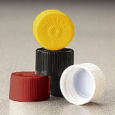 Nalgene Lined Closures (Sterile Caps) 20-415, HDPE, Red, case/2000