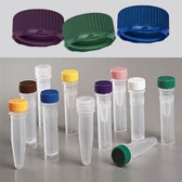 Nalgene 11mm Low Profile Caps for Micro Vials, Non-Sterile, case/1000