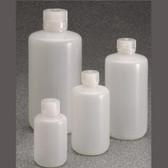 Nalgene 382003-0008 Bottle, LDPE, Low Particulate, 8oz (250mL) case/72
