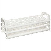 Nalgene 5930-0020 Test Tube Rack, Polypropylene, 16-20mm, case/4