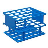 Nalgene Test Tube Half-Rack, Autoclavable Unwire, Blue, 20mm, case/8