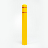"Premium Square 4.5"" x 55"" Bollard Post Sleeve"