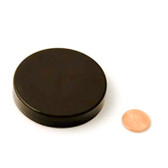 63mm (63-400) Black Polypropylene Unlined Smooth Cap