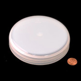 120mm (120-400) Natural Polypropylene Pressure Sensitive Lined Domed Cap