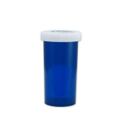 Economy Rx Blue Vials, Child-Resistant, Blue, 40 dram (150cc) case/180