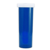 Economy Rx Blue Vials, Child-Resistant, Blue, 60 dram (175cc) case/115