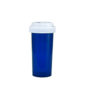 Economy Rx Blue Vials, Child Resistant, Reversible, 30 dram (120cc) case/195