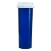 Economy Rx Blue Vials, Child Resistant, Reversible, 60 dram (175cc) case/90
