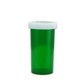 Economy Rx Green Vials, Child-Resistant, Green, 40 dram (150cc) case/180