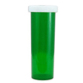 Economy Rx Green Vials, Child-Resistant, Green, 60 dram (175cc) case/115