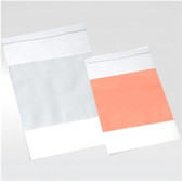 "Plastic Zip Bag, 5 x 8"" LDPE, 2 MIL, White Write-On Label, case/1000"