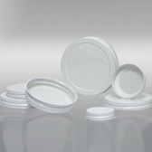 70-400 White Metal Cap, Plastisol Lined