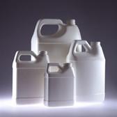 White HDPE, F-Style Jug, 128oz, 38-400 neck finish, jug only, case/6