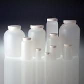HDPE, Wide Mouth Bottle, 28-400 White Foam Lined Cap, 30mL, case/48