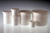 White Jar, 53-400 White Linerless Cap, 2oz, case/48
