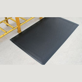 "Anti-Fatigue Mat, Dura Step, 1/2"", Black, 2 x 3"
