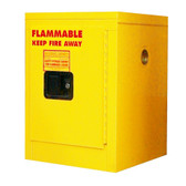 Securall A102 Flammable Storage Cabinet, 4 gal Self Close Door