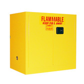 Securall A131 Flammable Storage Cabinet, 30 gal Self Close 2-Door Securall A131