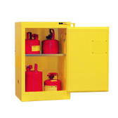Securall A305 Flammable Storage Cabinet, 12 gal, self-closing, Safe-T-Door