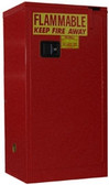 Securall A310 Flammable Storage Cabinet, 16 gal, self-closing, Safe-T-Door