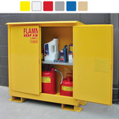 A345WP1 Weatherproof outdoor cabinet, 45 gal Self-Close, Self Close, Safe-T-Door