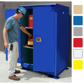 A390WP1 Weatherproof outdoor cabinet, 90 gal Self-Close, Self Close, Safe-T-Door