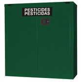 Securall AG330 Pesticide Storage Cabinet, 30 gal Self-Close, Self Close Safe-T-Door