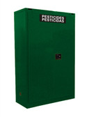 Securall AG345 Pesticide Storage Cabinet, 45 gal Self-Close, Self Close Safe-T-Door