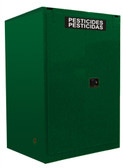 Securall AGV1110 Pesticide Storage Cabinet, 120 gal Self Close 2-Door