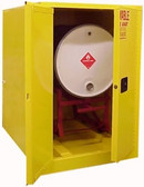 Securall H160, Horizontal Drum Combo Cabinet (1 Drum , Safety Can)