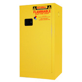 Securall Flammable Paint Storage Cabinet 20 gal Self Close Door
