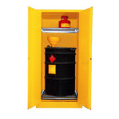 Securall V160, Vertical Drum Combo Cabinet (1 Drum, 2 Safety Can)