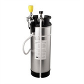 Speakman SE-597 Emergency Eye Wash, 5 gallon Stainless Steel Tank, Drench Hose