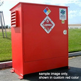 Hazmat Storage Building, 2-hour Fire Rated LF02, 2 drum Outdoor Locker