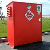 Hazmat Storage Building, Non-combustible LK02, 2 drum Outdoor Locker