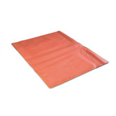 Poly liner Bags, for Solid Waste Container, Red, case/250