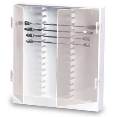 TrippNT Lab HPLC Column Storage Cabinet Slot Locking - Lab storage cabinets