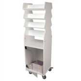 TrippNT 50252 Tall Suture Cart with Bulk Storage Area by TrippNT