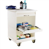 TrippNT 50591 Maui Lab Island Two Foot Lab Cart by TrippNT