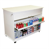 TrippNT 50592 Cayman Lab Island 4 Foot Lab Cart by TrippNT